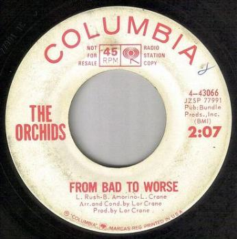ORCHIDS - FROM BAD TO WORSE - COLUMBIA DEMO