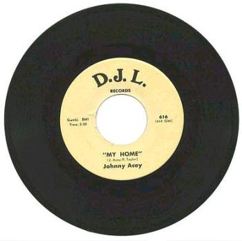 JOHNNY ACEY - My Home - D.J.L.
