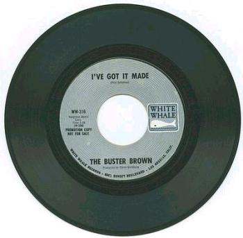 Buster Brown - I've Got It Made - White Whale