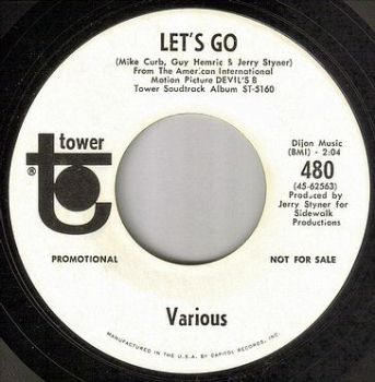 VARIOUS - LET'S GO - TOWER W/DJ