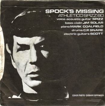 ATHLETICO SPIZZ 80 - SPOCK'S MISSING - ROUGH TRADE