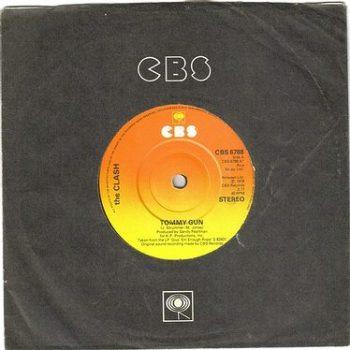 CLASH - TOMMY GUN - CBS