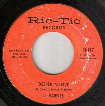 J.J. BARNES - DEEPER IN LOVE - RIC-TIC 117