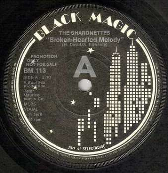 SHARONETTES - BROKEN HEARTED MELODY - BLACK MAGIC DEMO