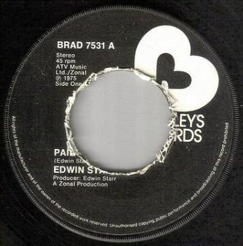 EDWIN STARR - PAIN - BRADLEYS