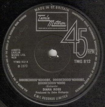 DIANA ROSS - DOOBEDOOD'NDOOBE - TMG 812