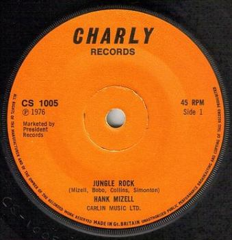 HANK MIZELL - JUNGLE ROCK - CHARLY