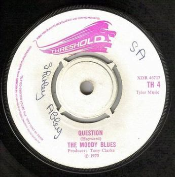 MOODY BLUES - QUESTION - THRESHOLD