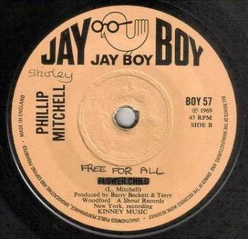 PHILLIP MITCHELL - FREE FOR ALL - JAY BOY