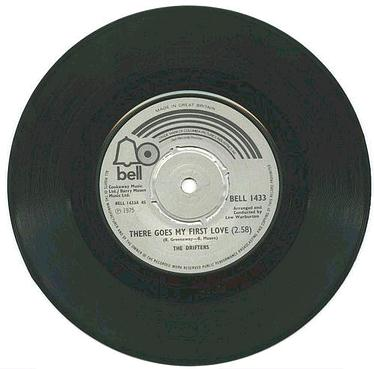 DRIFTERS - There Goes My First Love - UK BELL