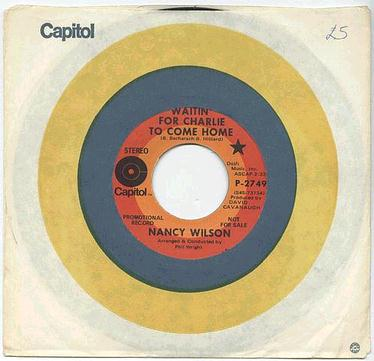 NANCY WILSON - WAITIN' FOR CHARLIE TO COME HOME - CAPITOL