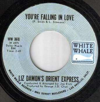 LIZ DAMON - YOU'RE FALLING IN LOVE - WHITE WHALE