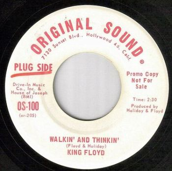 KING FLOYD - WALKIN' AND THINKIN' - ORIGINAL SOUND