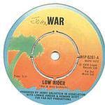 WAR - LOW RIDER - ISLAND