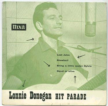 LONNIE DONEGAN - HIT PARADE - :EP:
