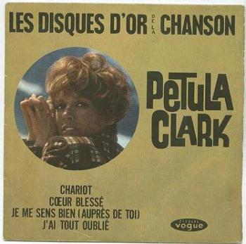 PETULA CLARK - LES DISQUES D'OR - VOGUE