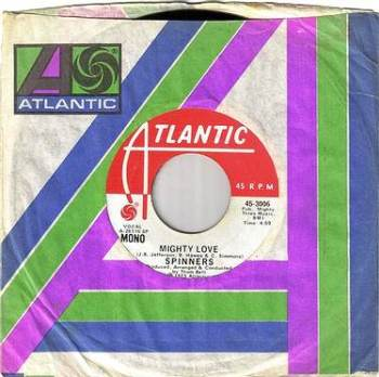 SPINNERS - MIGHTY LOVE - ATLANTIC DEMO