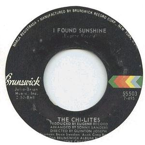 Chi-Lites - I Found Sunshine