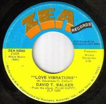 DAVID T.WALKER - LOVE VIBRATIONS - ZEA