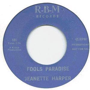 Jeanette Harper - Fools Paradise