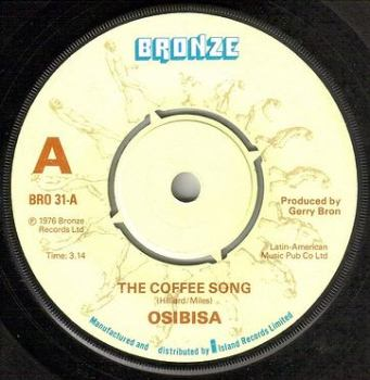 OSIBISA - THE COFFEE SONG - BRONZE