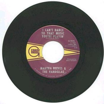 MARTHA & VANDELLAS - I Can't Dance To That Music