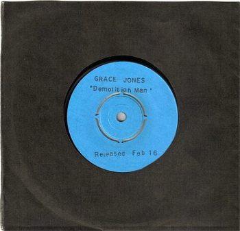 GRACE JONES - DEMOLITION MAN - ISLAND PROMO