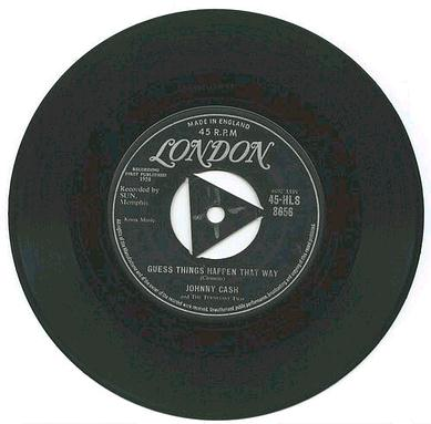 JOHNNY CASH - GUESS THINGS HAPPEN THAT WAY - LONDON TRI