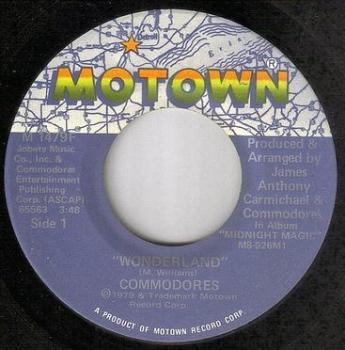 COMMODORES - WONDERLAND - MOTOWN
