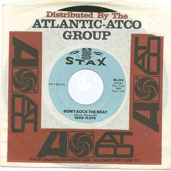 EDDIE FLOYD - Don't Rock The Boat - STAX