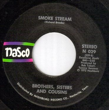 BROTHERS,SISTERS AND COUSINS - SMOKE STREAM - NASCO orig