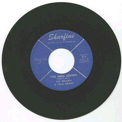 Dee Brown & Lola Grant - You Need Loving