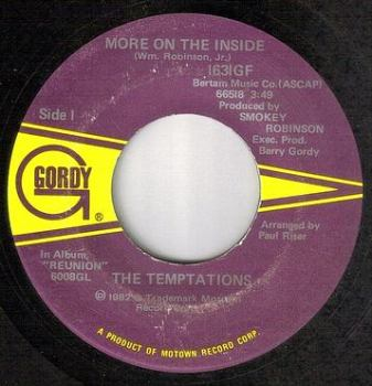 TEMPTATIONS - MORE ON THE INSIDE - GORDY