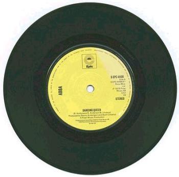 ABBA - DANCING QUEEN - EPIC yellow