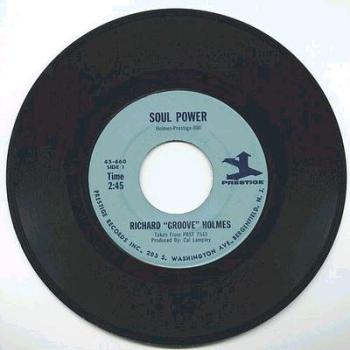 "Richard ""Groove"" Holmes - Soul Power - Prestige"