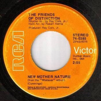 FRIENDS OF DISTINCTION - NEW MOTHER NATURE - RCA