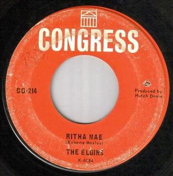 ELGINS - RITHA MAE - CONGRESS