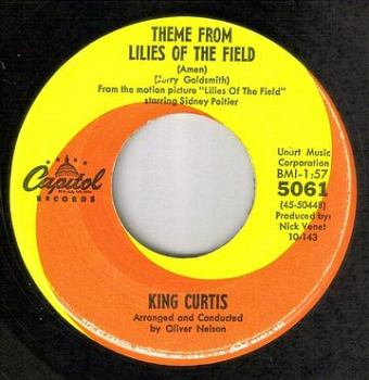 KING CURTIS - THEME FROM LILIES OF THE FIELD (AMEN) - CAPITOL