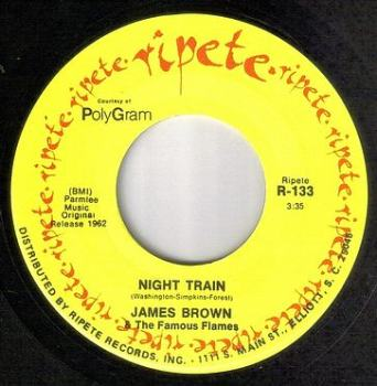 JAMES BROWN - NIGHT TRAIN - RIPETE