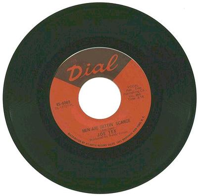 Joe Tex - Men Are Gettin' Scarce - Dial