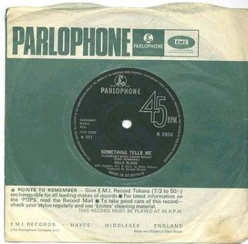 CILLA BLACK - Something Tells Me - PARLOPHONE