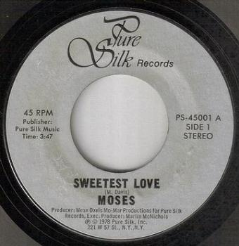 MOSES - SWEETEST LOVE - PURE SILK