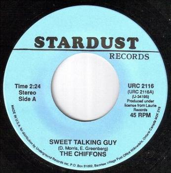 CHIFFONS - SWEET TALKING GUY - STARDUST
