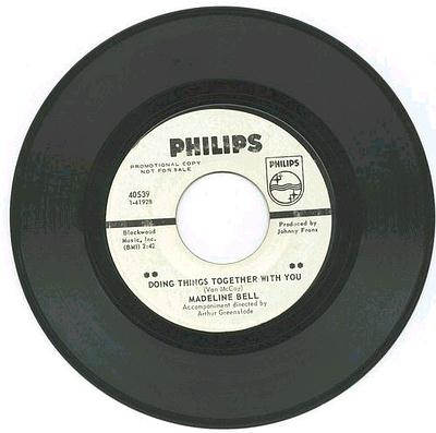 MADELINE BELL - DOING THINGS TOGETHER WITH YOU - PHILIPS DJ