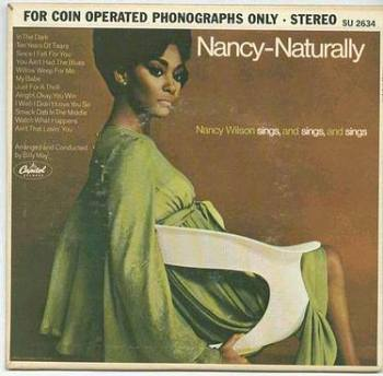 NANCY WILSON - NATURALLY - CAPITOL :EP: