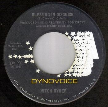 MITCH RYDER - BLESSING IN DISGUISE - NEW VOICE