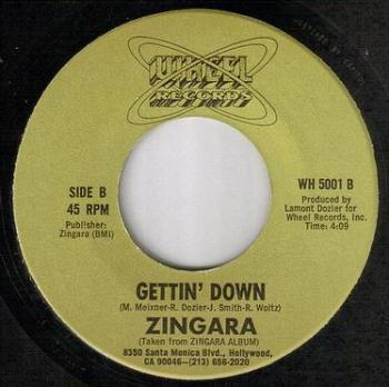 ZINGARA - GETTIN' DOWN - WHEEL