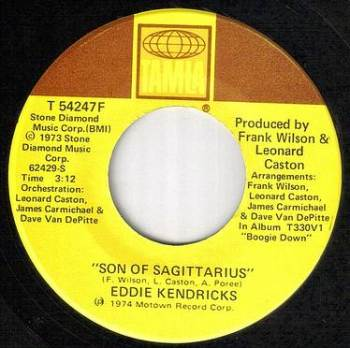 EDDIE KENDRICKS - SON OF SAGITTARIUS - US TAMLA