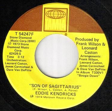 EDDIE KENDRICKS - SON OF SAGITTARIUS - US TAMLA