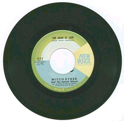 MITCH RYDER - ONE GRAIN OF SAND - NEW VOICE